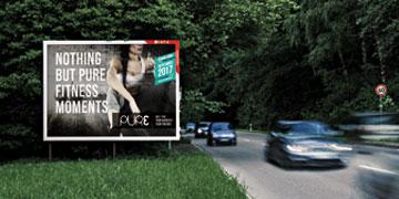 Werbeträger Großfläche